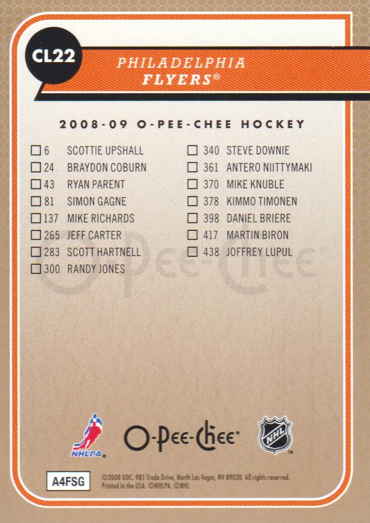 2008-09-O-Pee-Chee-OPC-Team-Checklist-Hockey-Cards-Pick-From-List thumbnail 9
