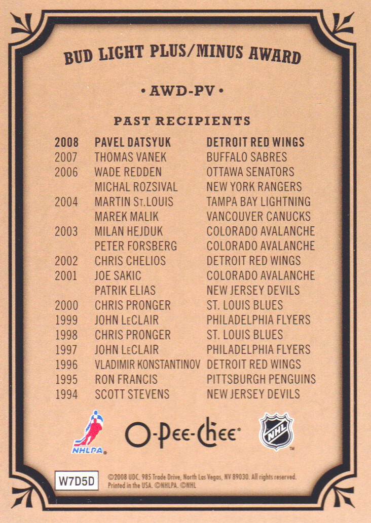 2008-09-O-Pee-Chee-OPC-Trophy-Cards-Hockey-Cards-Pick-From-List thumbnail 7