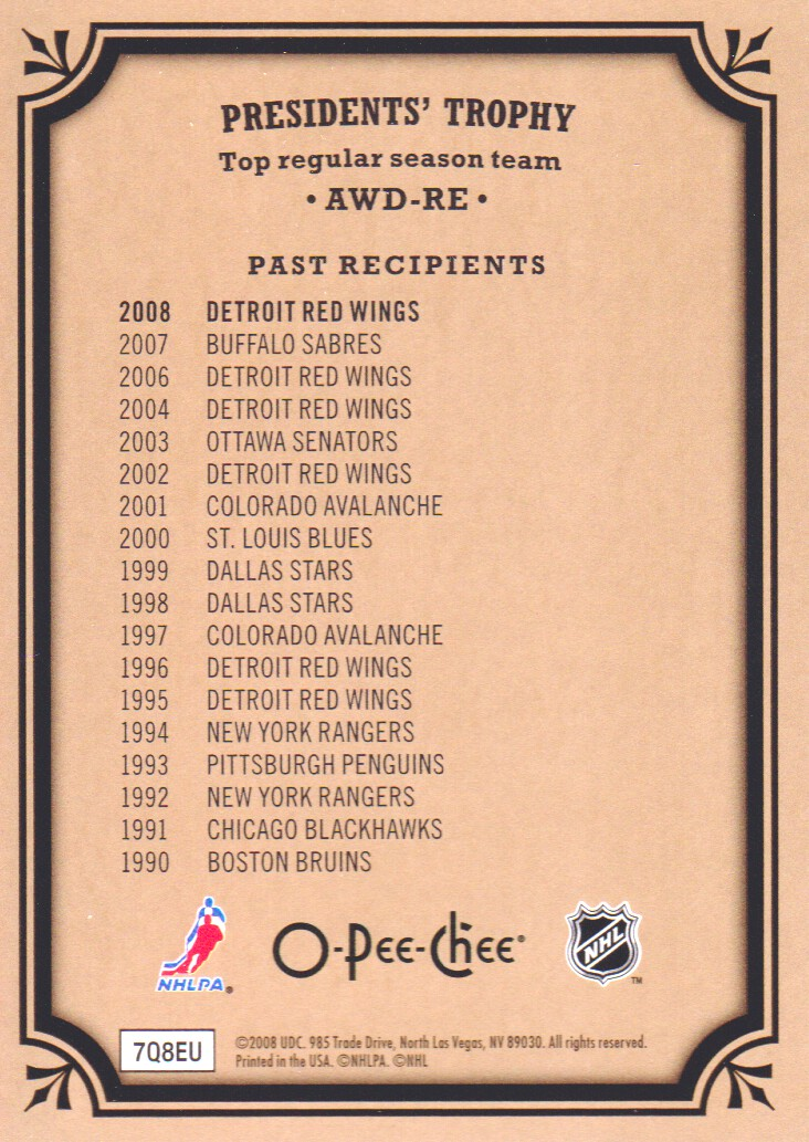 2008-09-O-Pee-Chee-OPC-Trophy-Cards-Hockey-Cards-Pick-From-List thumbnail 9