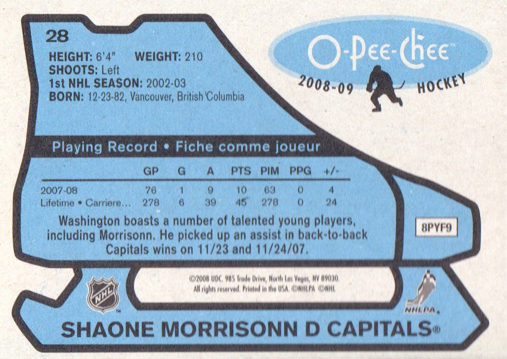 2008-09-O-Pee-Chee-OPC-1979-80-Retro-Parallel-Hockey-Cards-Pick-From-List miniature 7