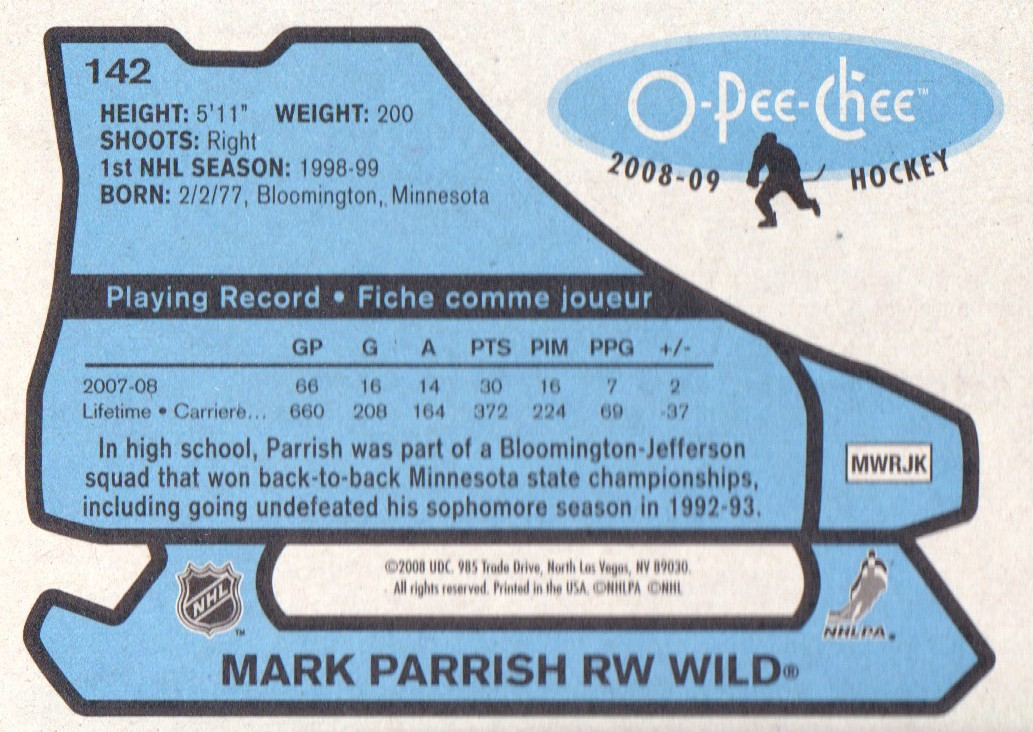 2008-09-O-Pee-Chee-OPC-1979-80-Retro-Parallel-Hockey-Cards-Pick-From-List miniature 37