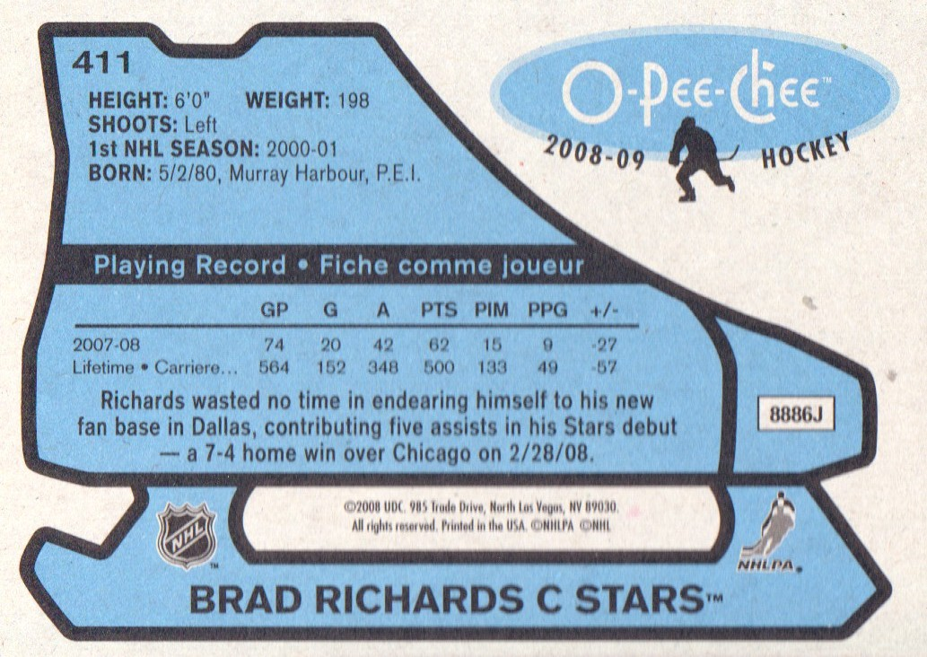 2008-09-O-Pee-Chee-OPC-1979-80-Retro-Parallel-Hockey-Cards-Pick-From-List miniature 99