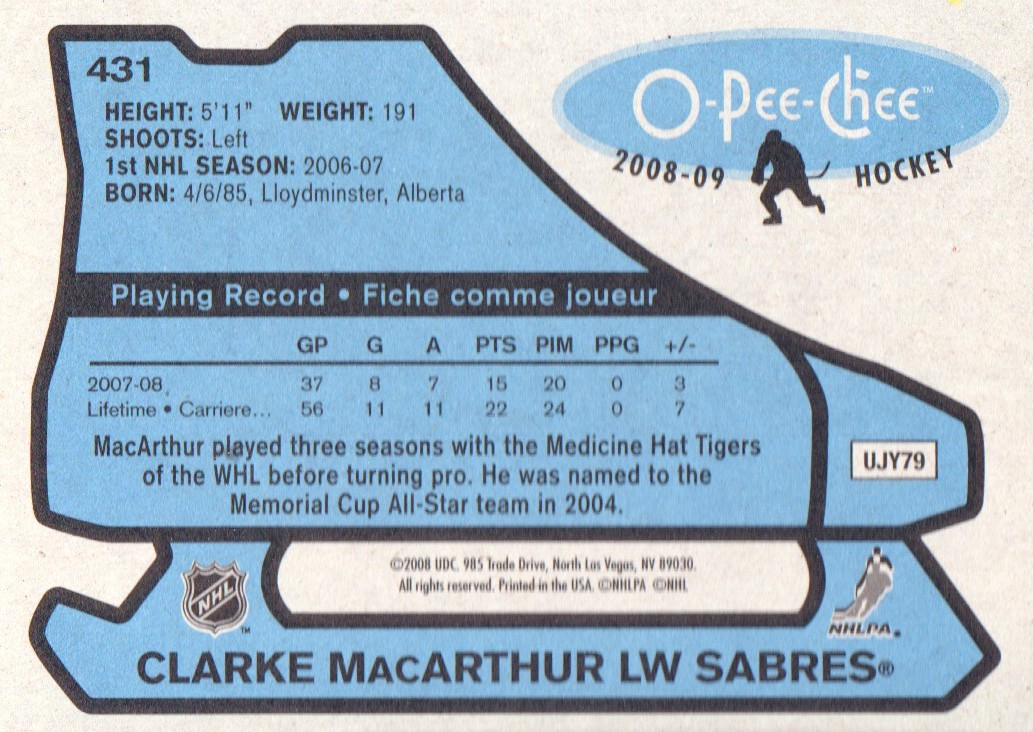 2008-09-O-Pee-Chee-OPC-1979-80-Retro-Parallel-Hockey-Cards-Pick-From-List miniature 103