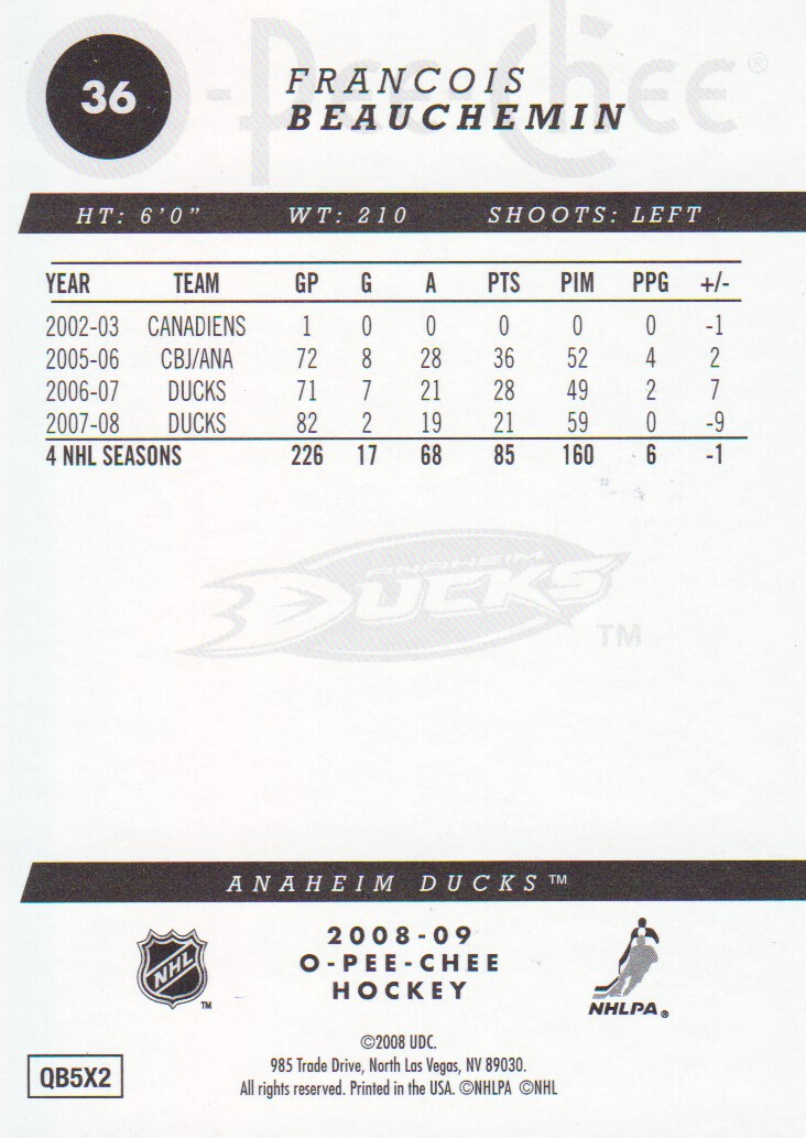 2008-09-O-Pee-Chee-OPC-Gold-Parallel-Hockey-Cards-Pick-From-List thumbnail 5