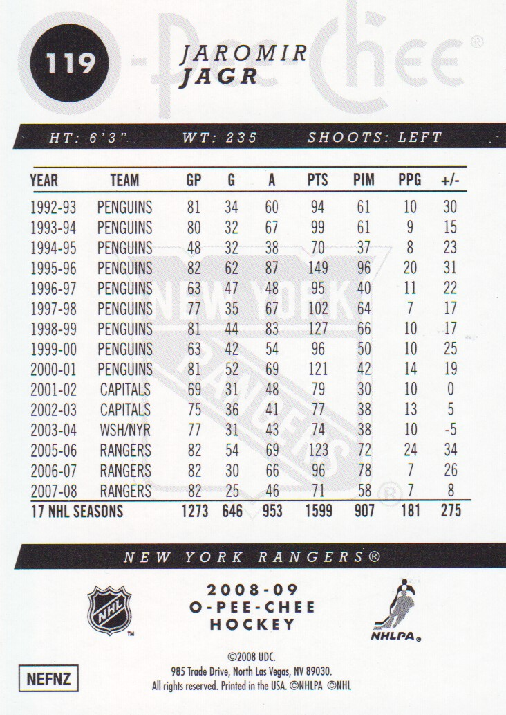 2008-09-O-Pee-Chee-OPC-Gold-Parallel-Hockey-Cards-Pick-From-List thumbnail 15