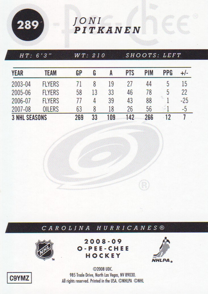 2008-09-O-Pee-Chee-OPC-Gold-Parallel-Hockey-Cards-Pick-From-List thumbnail 37