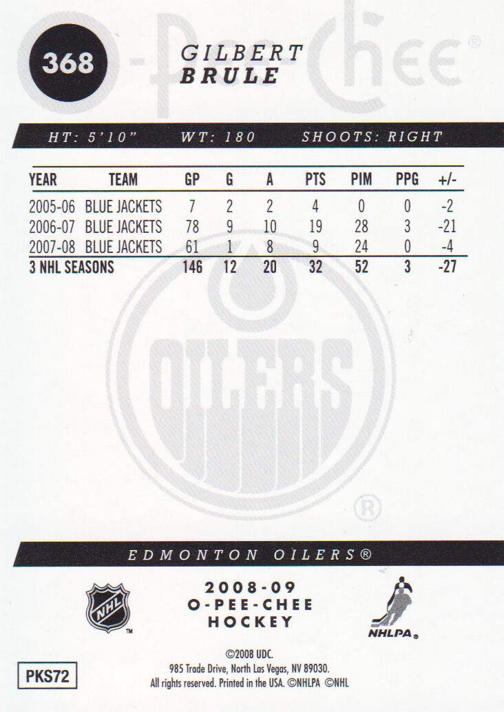 2008-09-O-Pee-Chee-OPC-Gold-Parallel-Hockey-Cards-Pick-From-List miniature 43