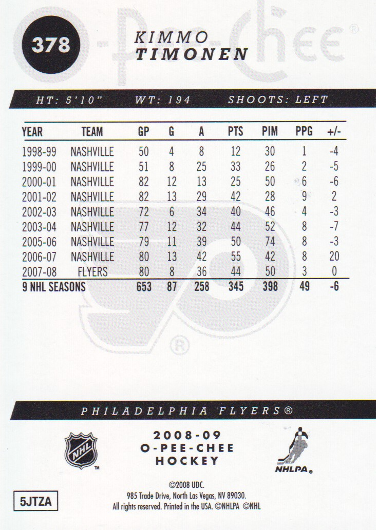 2008-09-O-Pee-Chee-OPC-Gold-Parallel-Hockey-Cards-Pick-From-List thumbnail 45