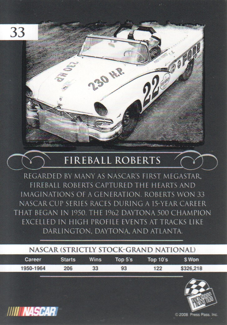 2008-Press-Pass-Legends-Parallels-NASCAR-Racing-Cards-Pick-From-List thumbnail 7