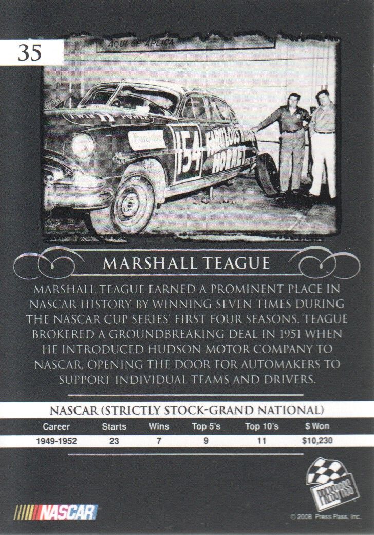 2008-Press-Pass-Legends-Parallels-NASCAR-Racing-Cards-Pick-From-List thumbnail 9