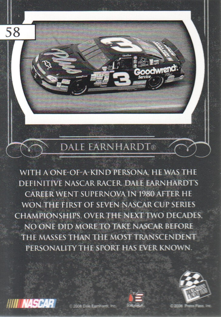 2008-Press-Pass-Legends-Parallels-NASCAR-Racing-Cards-Pick-From-List thumbnail 17