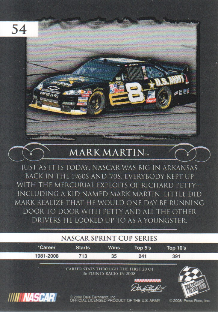 2008-Press-Pass-Legends-Parallels-NASCAR-Racing-Cards-Pick-From-List thumbnail 29
