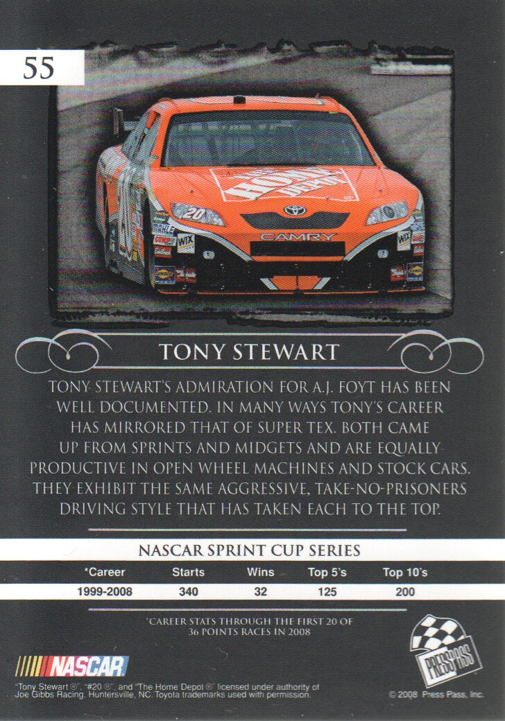 2008-Press-Pass-Legends-Parallels-NASCAR-Racing-Cards-Pick-From-List thumbnail 31