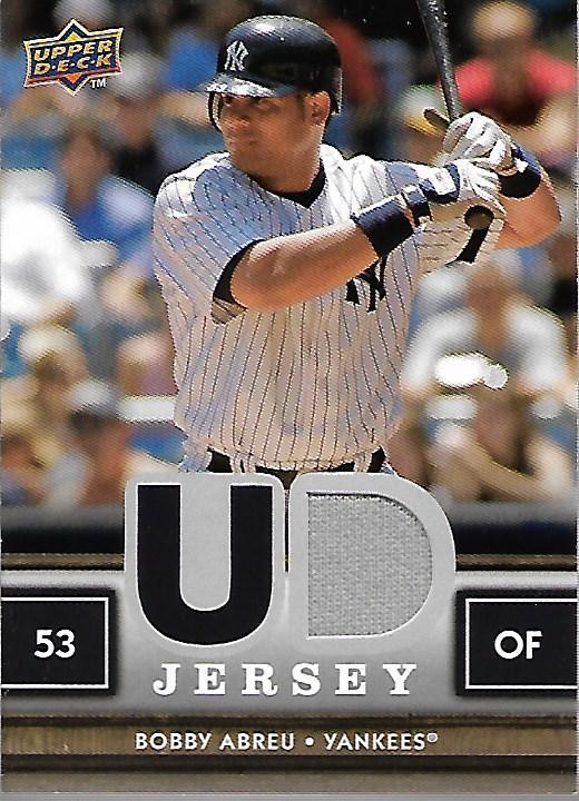2008 Upper Deck First Edition Jerseys #FEBA Bobby Abreu Jsy/750 *