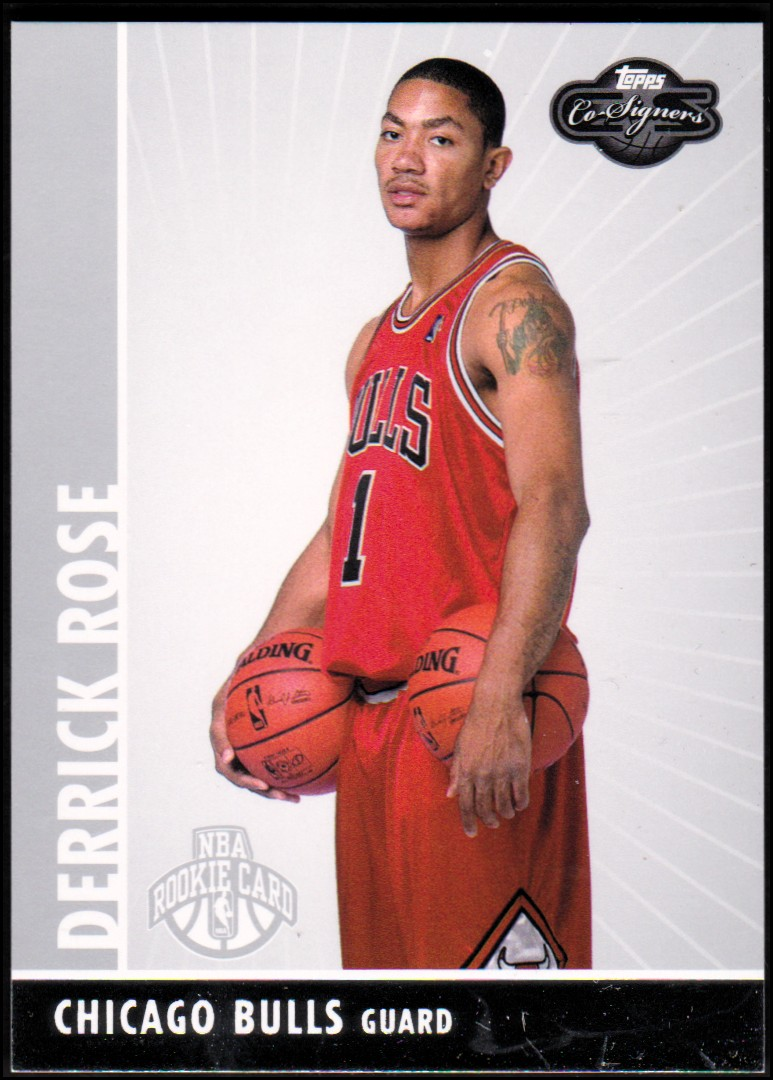 2008-09 Topps Co-Signers #101 Derrick Rose RC