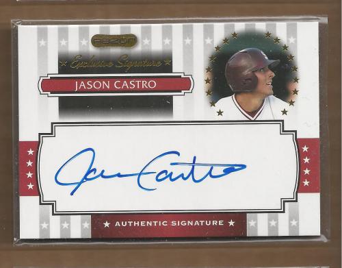 2008 Razor Signature Series Exclusives Autographs #ES08 Jason Castro