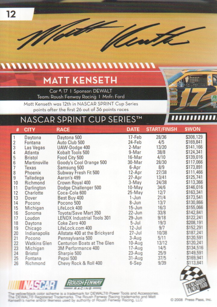 2009-Press-Pass-Parallels-NASCAR-Racing-Cards-Pick-From-List thumbnail 11