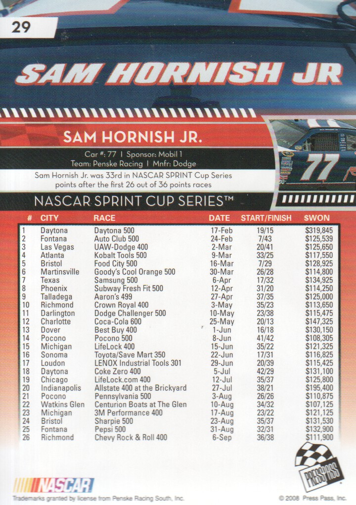 2009-Press-Pass-Parallels-NASCAR-Racing-Cards-Pick-From-List thumbnail 25