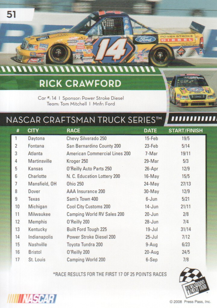 2009-Press-Pass-Parallels-NASCAR-Racing-Cards-Pick-From-List thumbnail 39