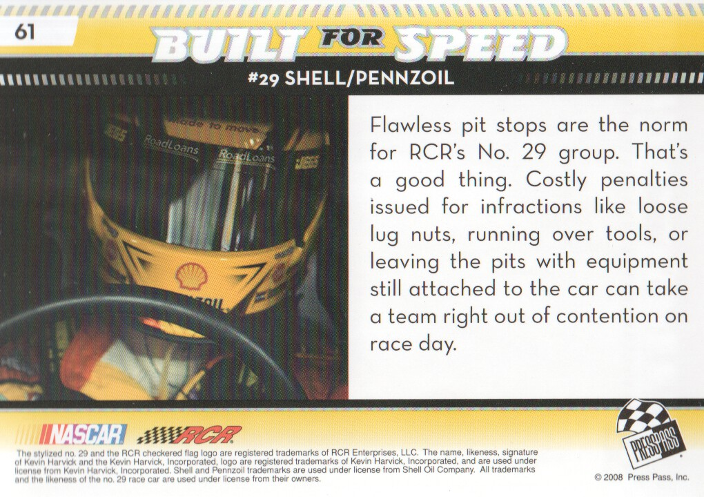2009-Press-Pass-Parallels-NASCAR-Racing-Cards-Pick-From-List thumbnail 49