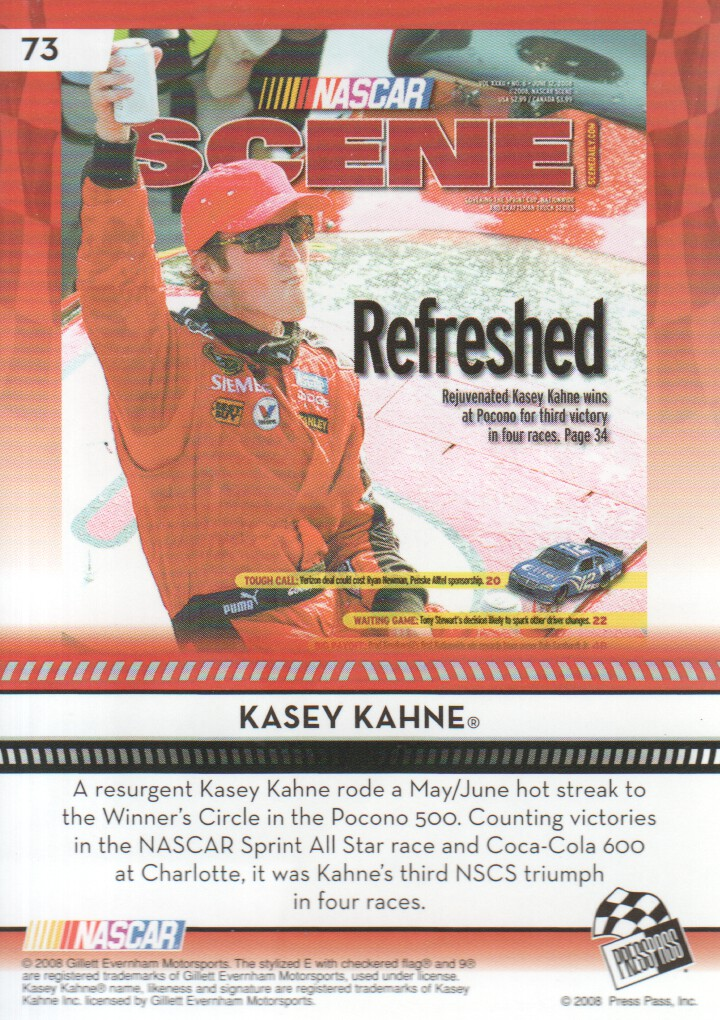 2009-Press-Pass-Parallels-NASCAR-Racing-Cards-Pick-From-List thumbnail 63