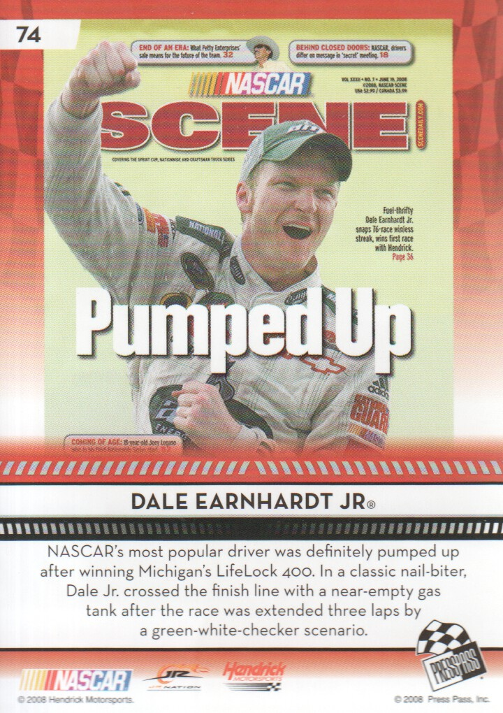 2009-Press-Pass-Parallels-NASCAR-Racing-Cards-Pick-From-List thumbnail 65