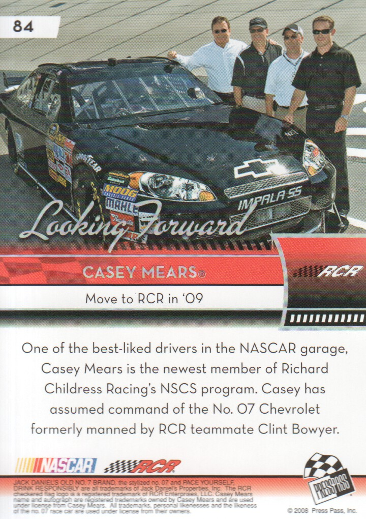 2009-Press-Pass-Parallels-NASCAR-Racing-Cards-Pick-From-List thumbnail 71
