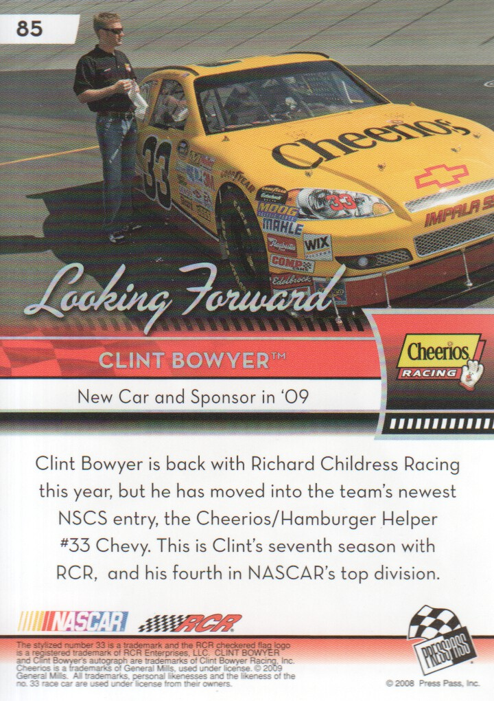 2009-Press-Pass-Parallels-NASCAR-Racing-Cards-Pick-From-List thumbnail 73