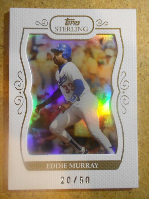 2008 Topps Sterling Framed White #35 Eddie Murray
