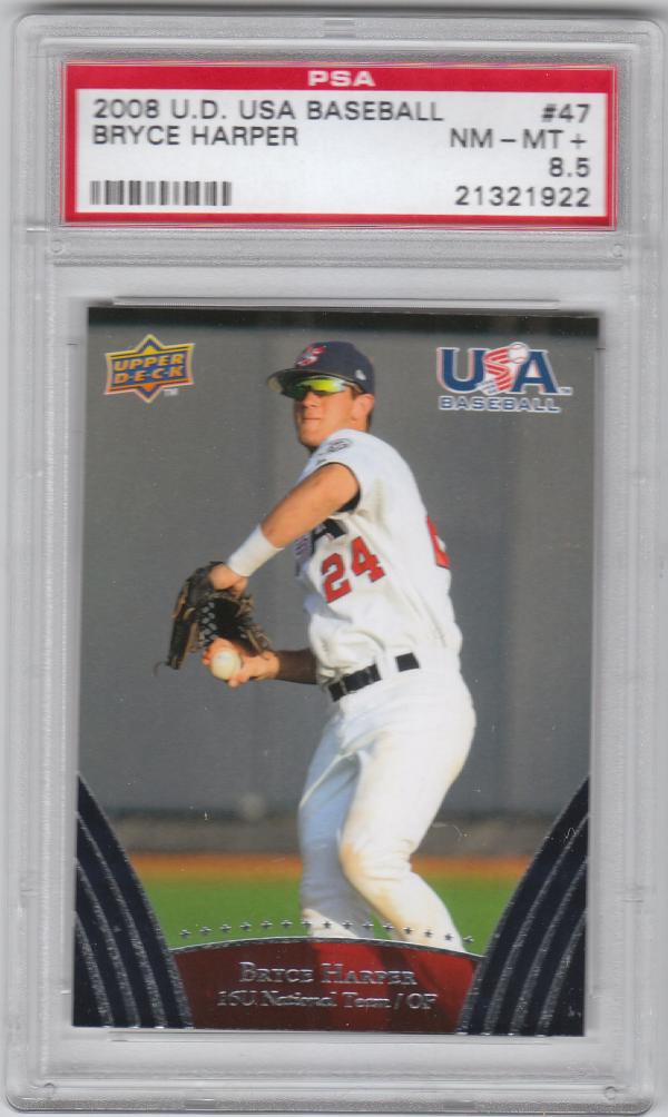 2008-09 USA Baseball #47 Bryce Harper