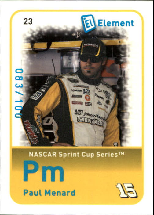2009 Element Radioactive #23 Paul Menard