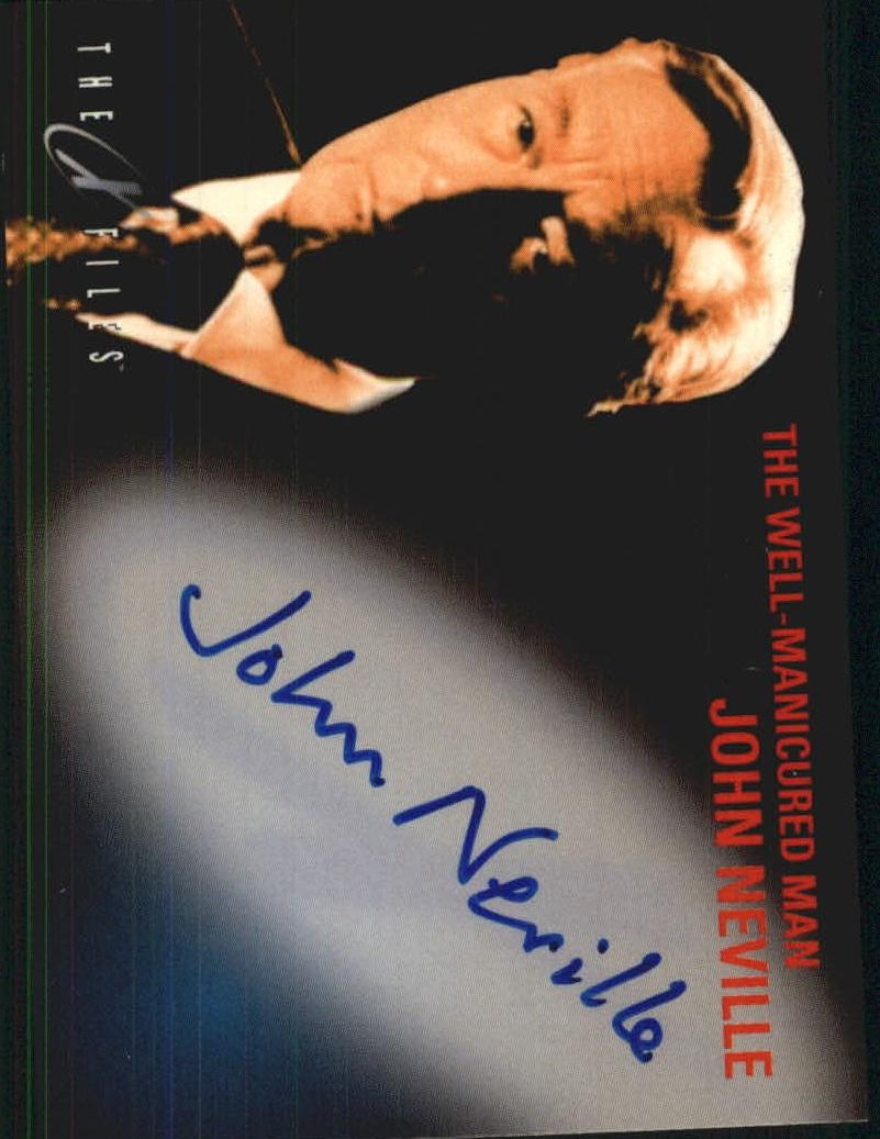 1998 X-Files Fight the Future Autographs #NNO John Neville