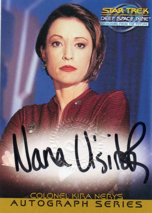 1999 Star Trek Deep Space Nine Memories from the Future Autographs #4 Nana Visitor