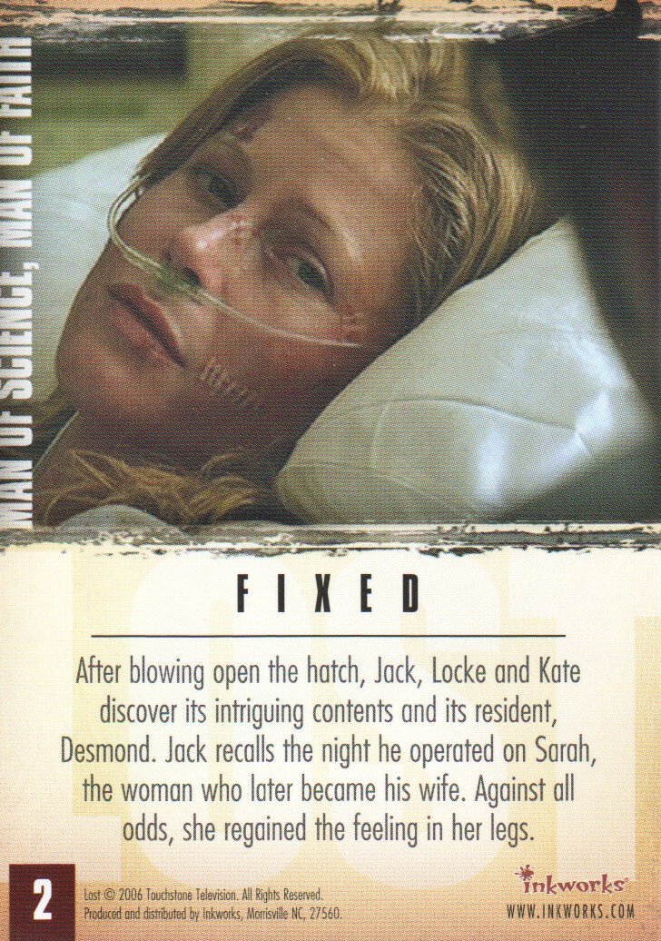 2006-Lost-Season-2-Trading-Cards-Pick-From-List miniature 5