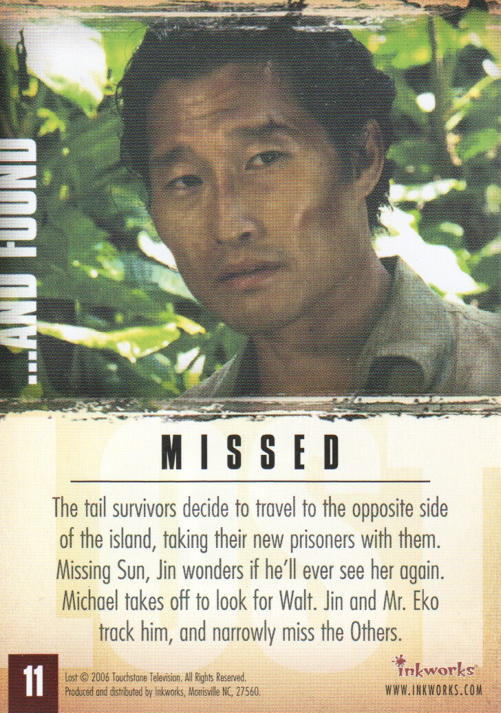 2006-Lost-Season-2-Trading-Cards-Pick-From-List miniature 23