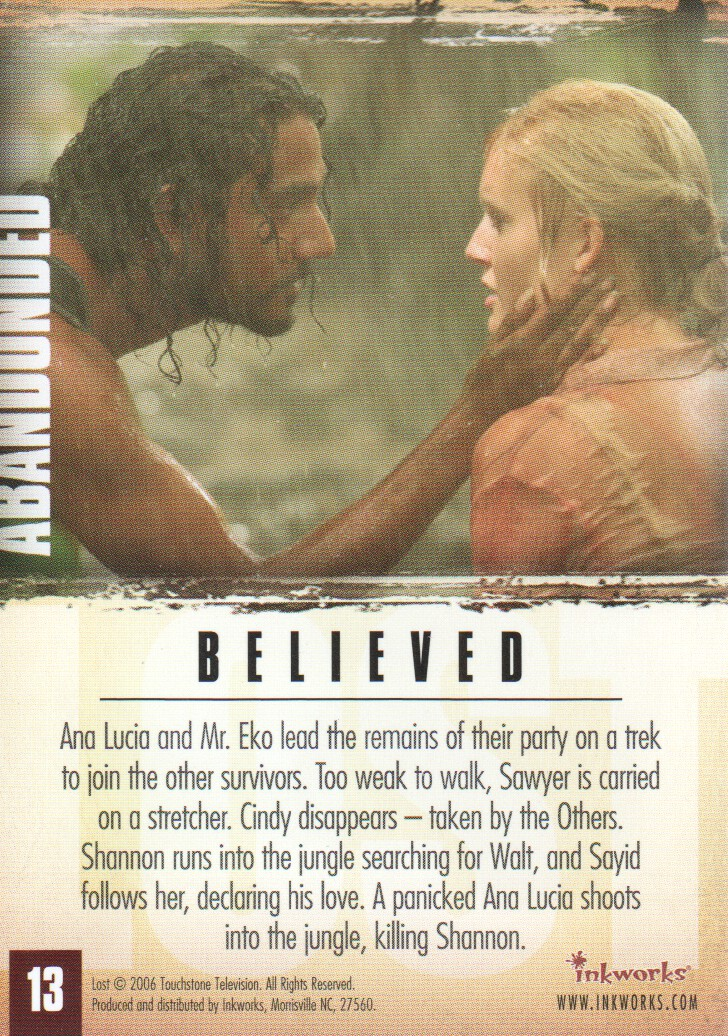 2006-Lost-Season-2-Trading-Cards-Pick-From-List miniature 27