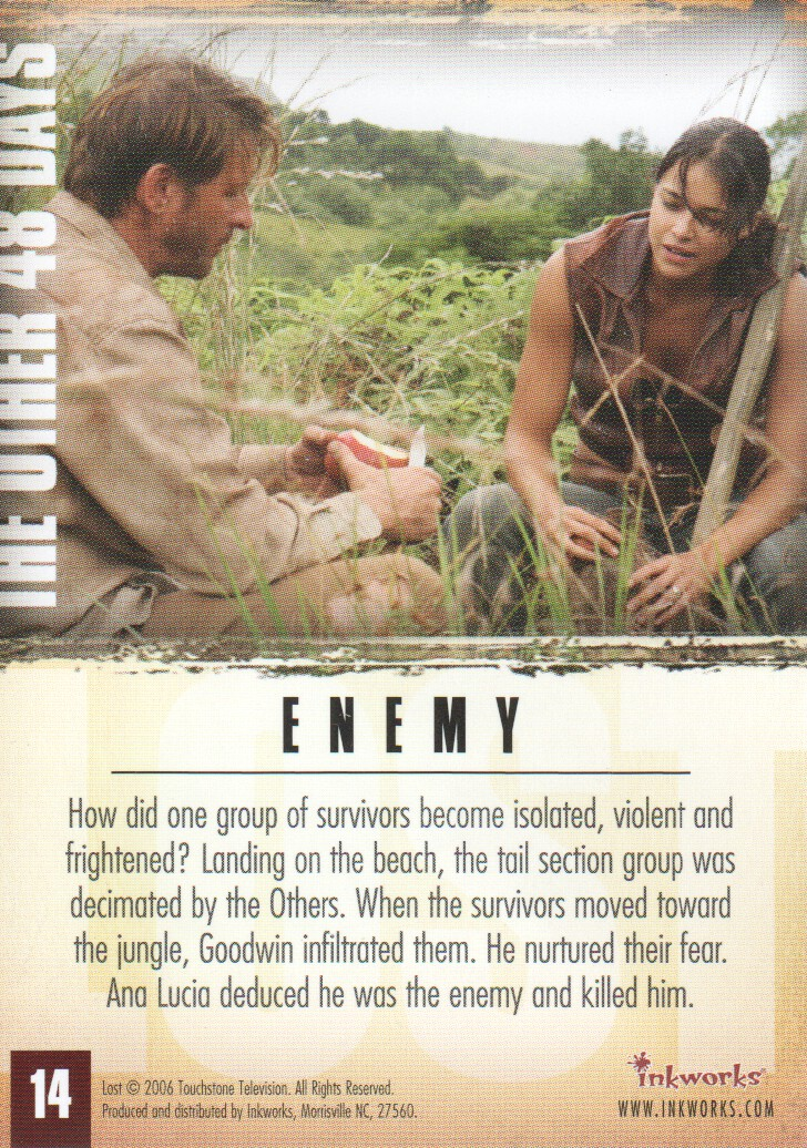 2006-Lost-Season-2-Trading-Cards-Pick-From-List miniature 29