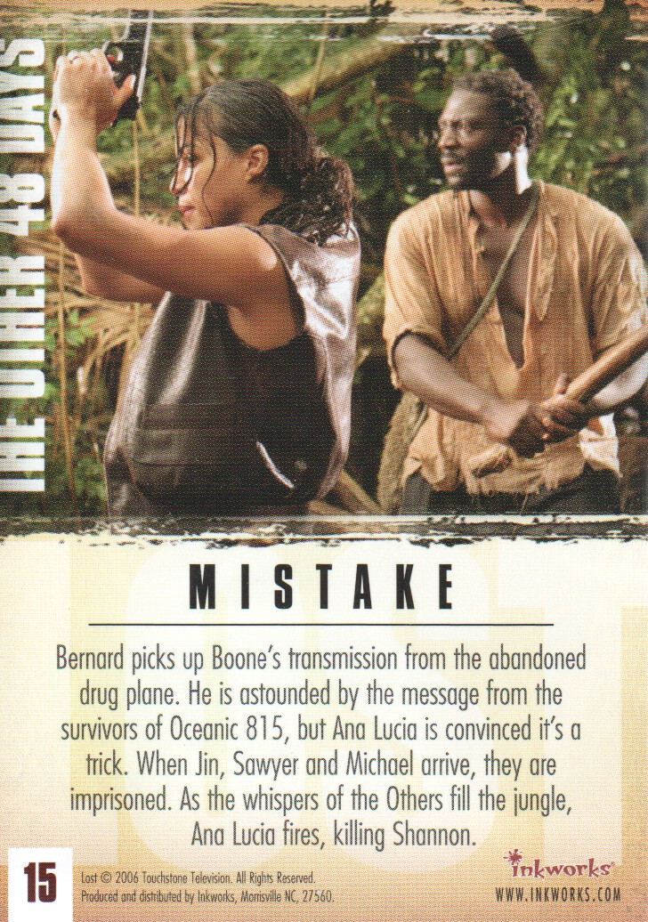 2006-Lost-Season-2-Trading-Cards-Pick-From-List miniature 31