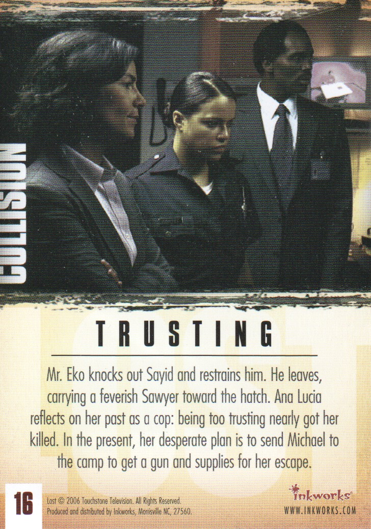 2006-Lost-Season-2-Trading-Cards-Pick-From-List miniature 33