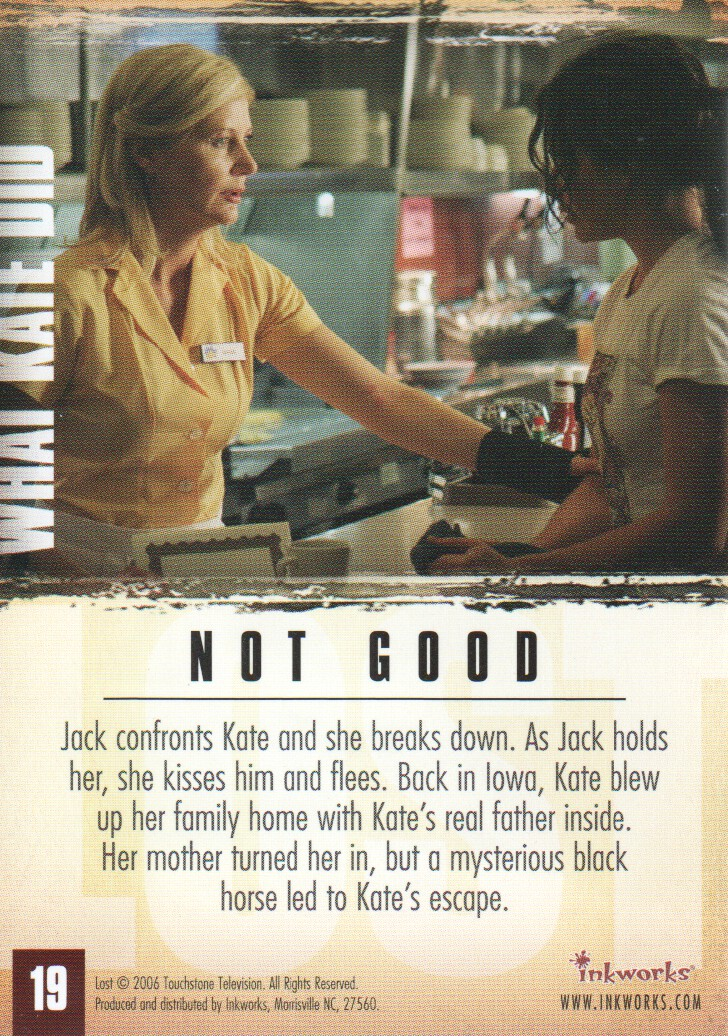 2006-Lost-Season-2-Trading-Cards-Pick-From-List miniature 39