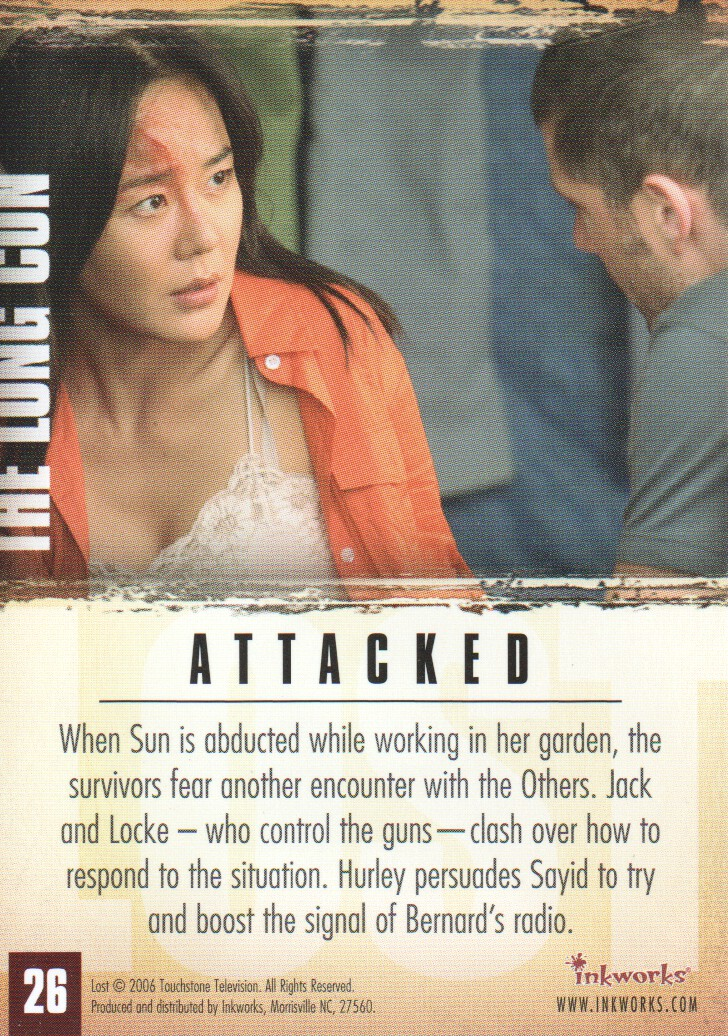 2006-Lost-Season-2-Trading-Cards-Pick-From-List miniature 53