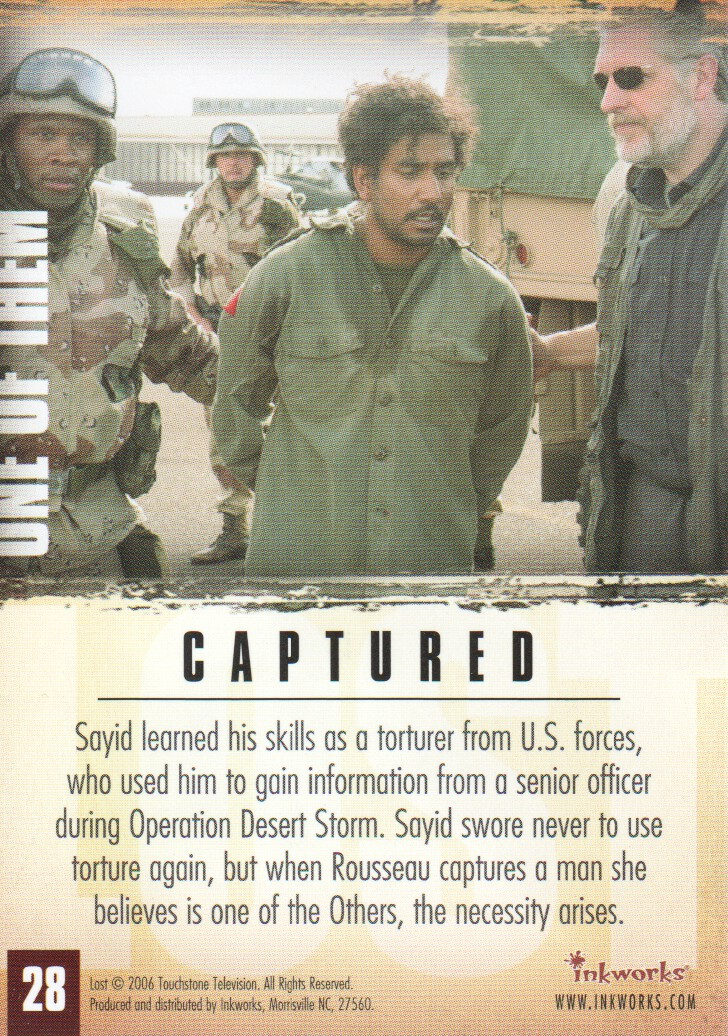 2006-Lost-Season-2-Trading-Cards-Pick-From-List miniature 57
