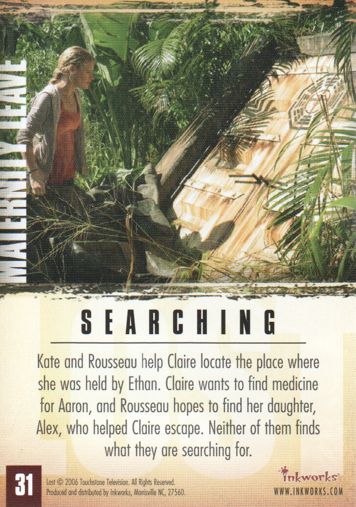 2006-Lost-Season-2-Trading-Cards-Pick-From-List miniature 63