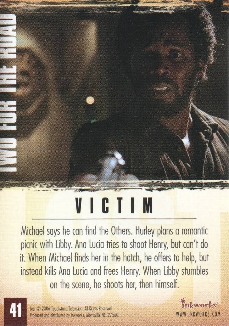 2006-Lost-Season-2-Trading-Cards-Pick-From-List miniature 83