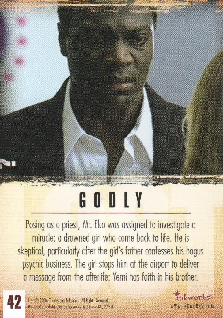 2006-Lost-Season-2-Trading-Cards-Pick-From-List miniature 85
