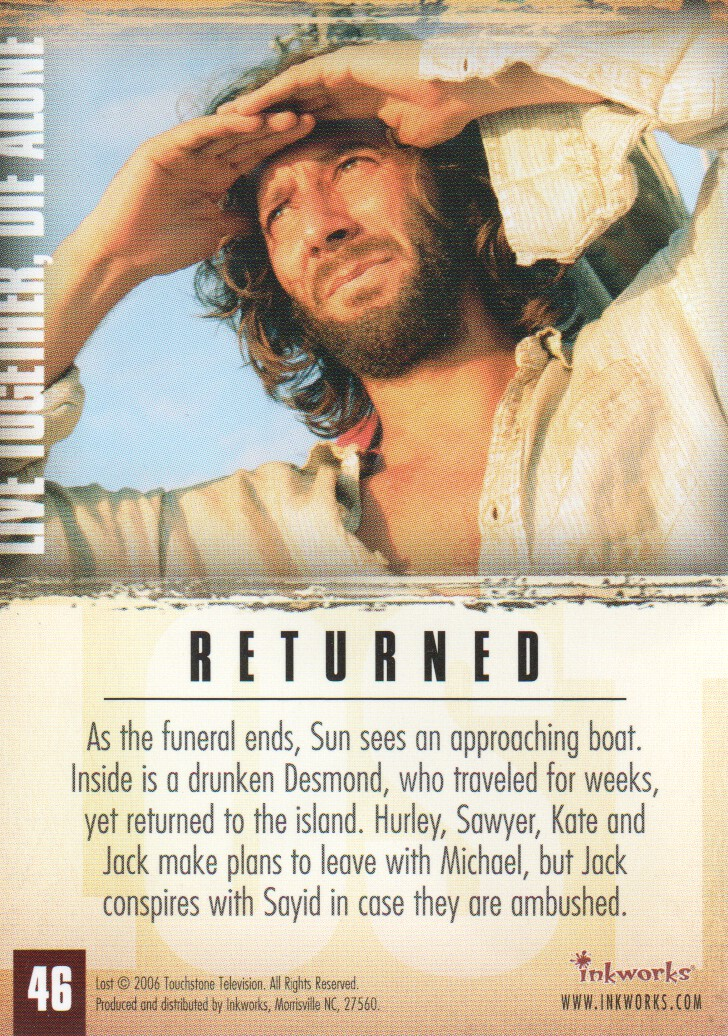 2006-Lost-Season-2-Trading-Cards-Pick-From-List miniature 93