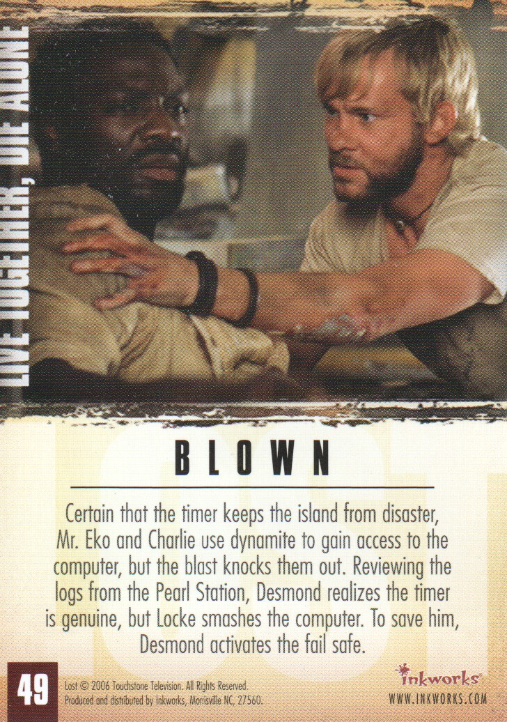 2006-Lost-Season-2-Trading-Cards-Pick-From-List miniature 99