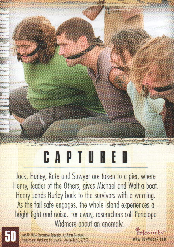 2006-Lost-Season-2-Trading-Cards-Pick-From-List miniature 101