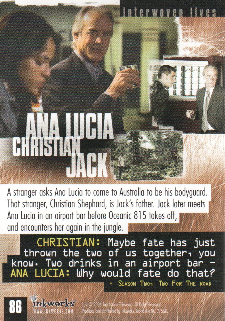 2006-Lost-Season-2-Trading-Cards-Pick-From-List miniature 167
