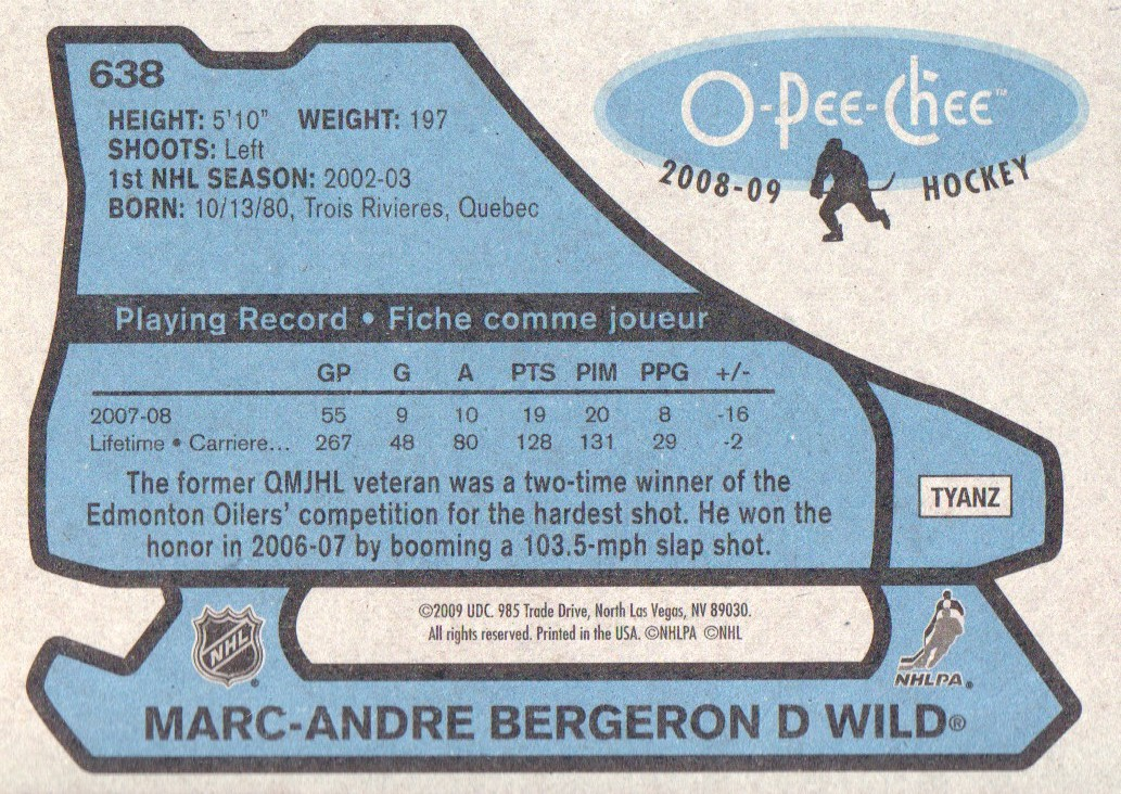 2008-09-O-Pee-Chee-OPC-1979-80-Retro-Parallel-Hockey-Cards-Pick-From-List miniature 197